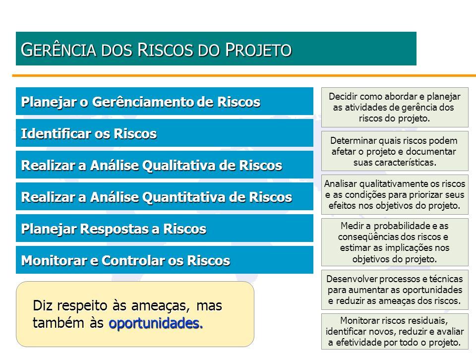 GERÊNCIA DOS RISCOS DO PROJETO