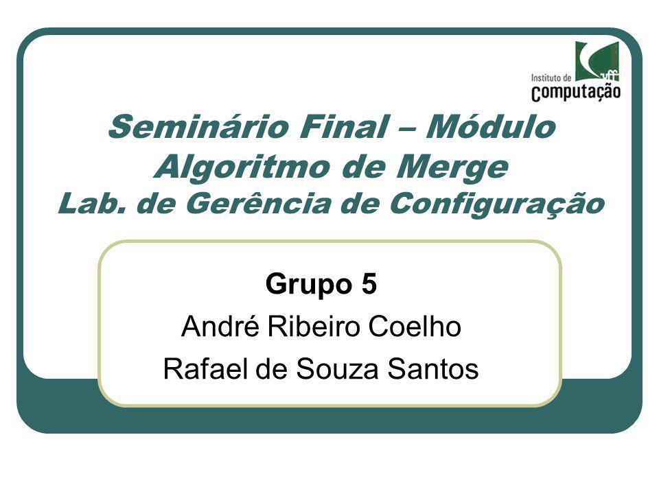 Seminário Final – Módulo Algoritmo de Merge