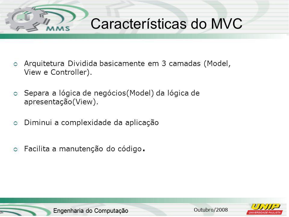 Características do MVC