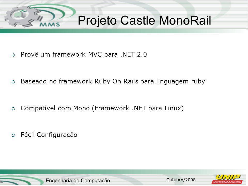 Projeto Castle MonoRail