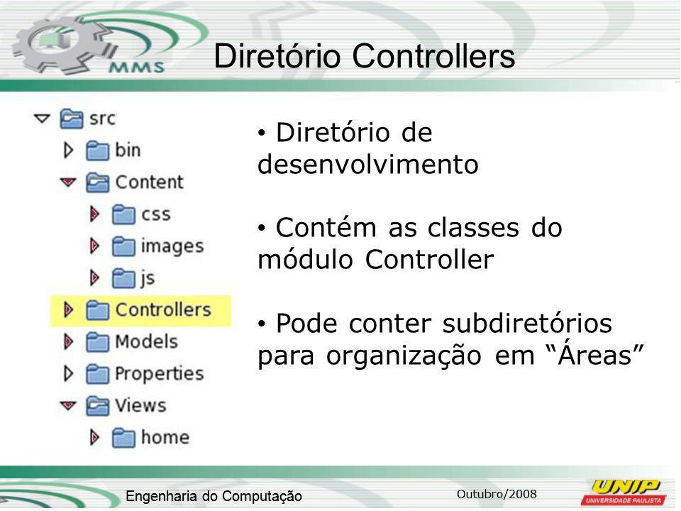 Diretório Controllers