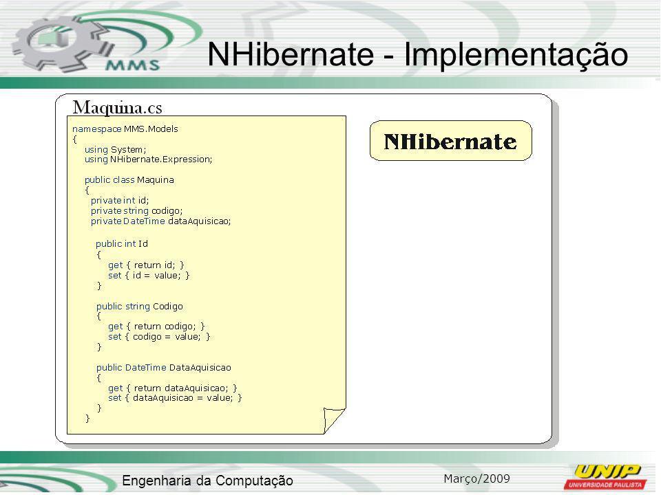 NHibernate - Implementação