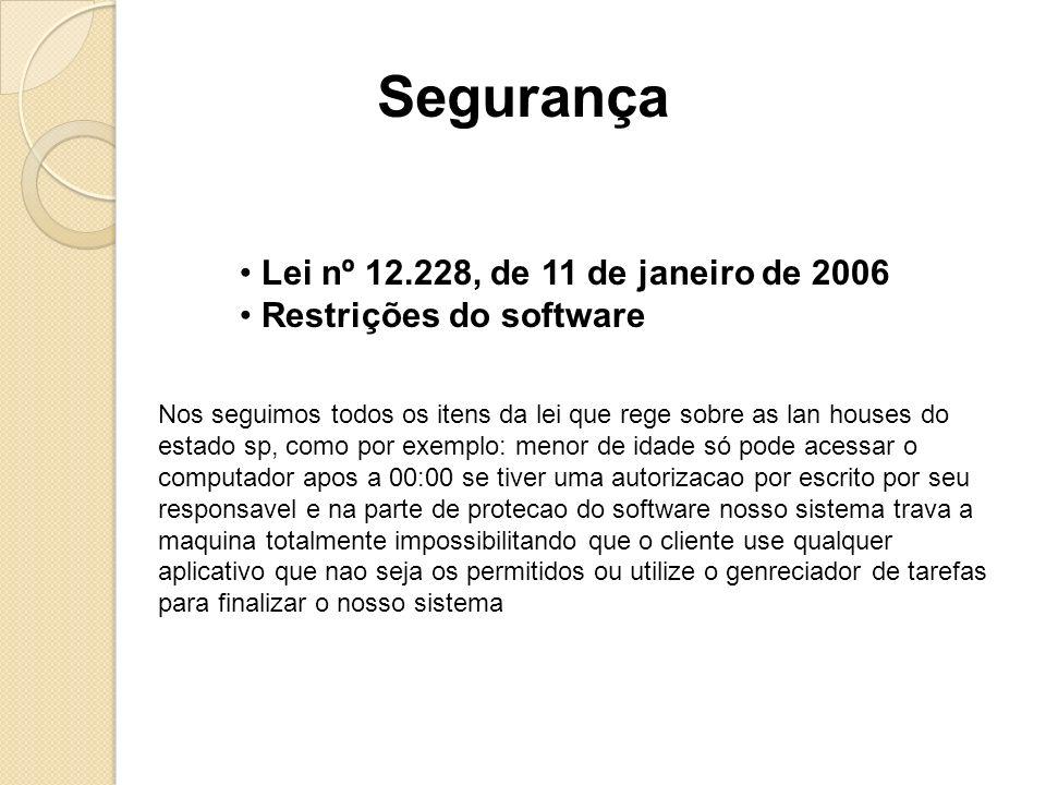 Segurança Lei nº 12.228, de 11 de janeiro de 2006