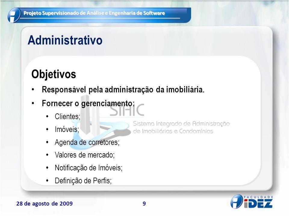 Administrativo Objetivos