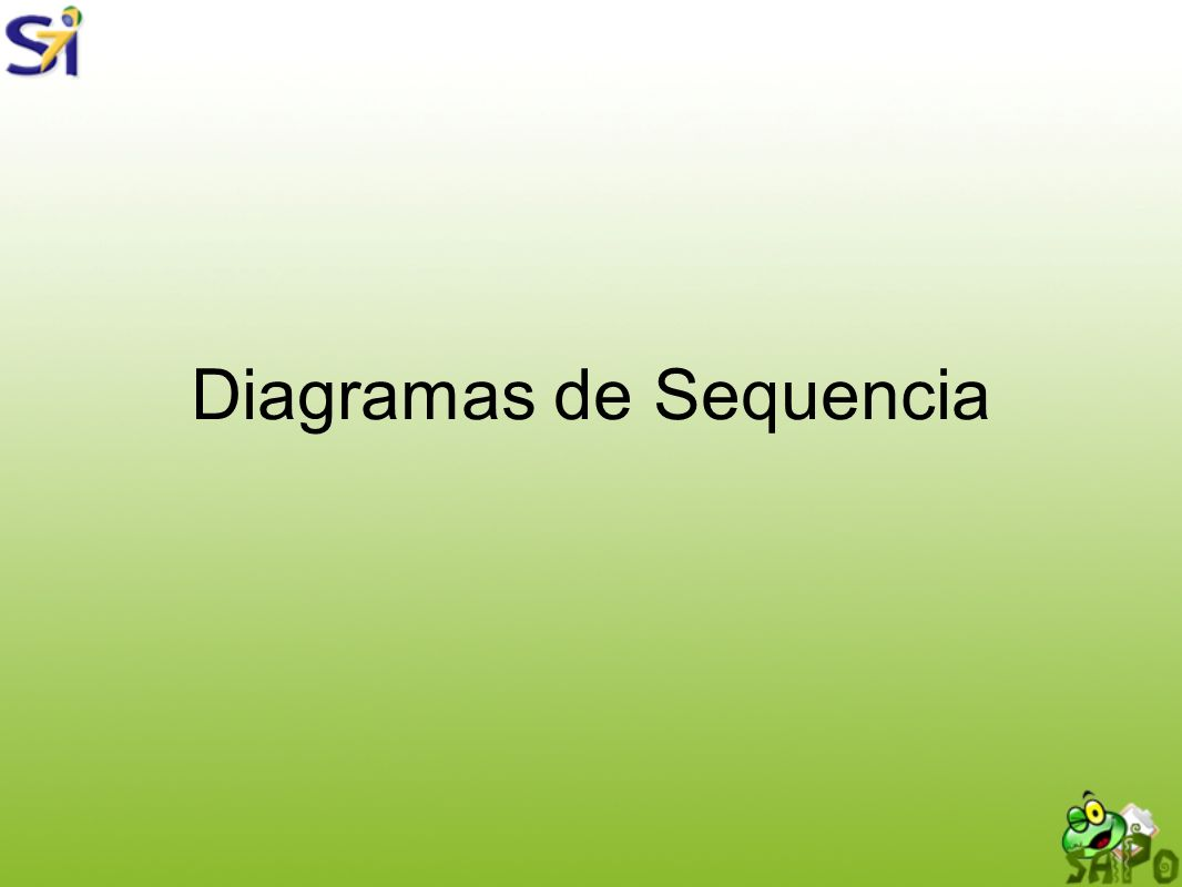 Diagramas de Sequencia