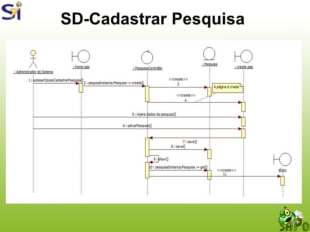 SD-Cadastrar Pesquisa