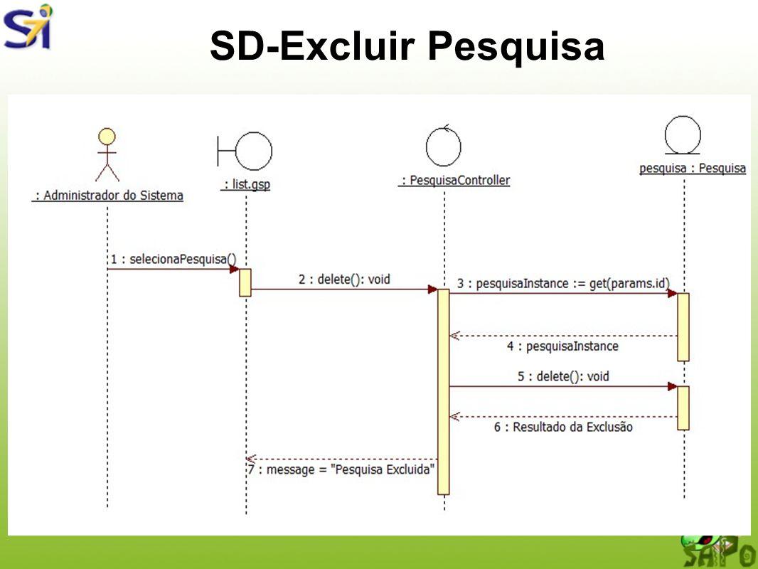 SD-Excluir Pesquisa