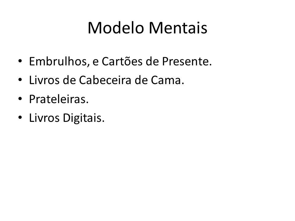 Modelo Mentais Embrulhos, e Cartões de Presente.