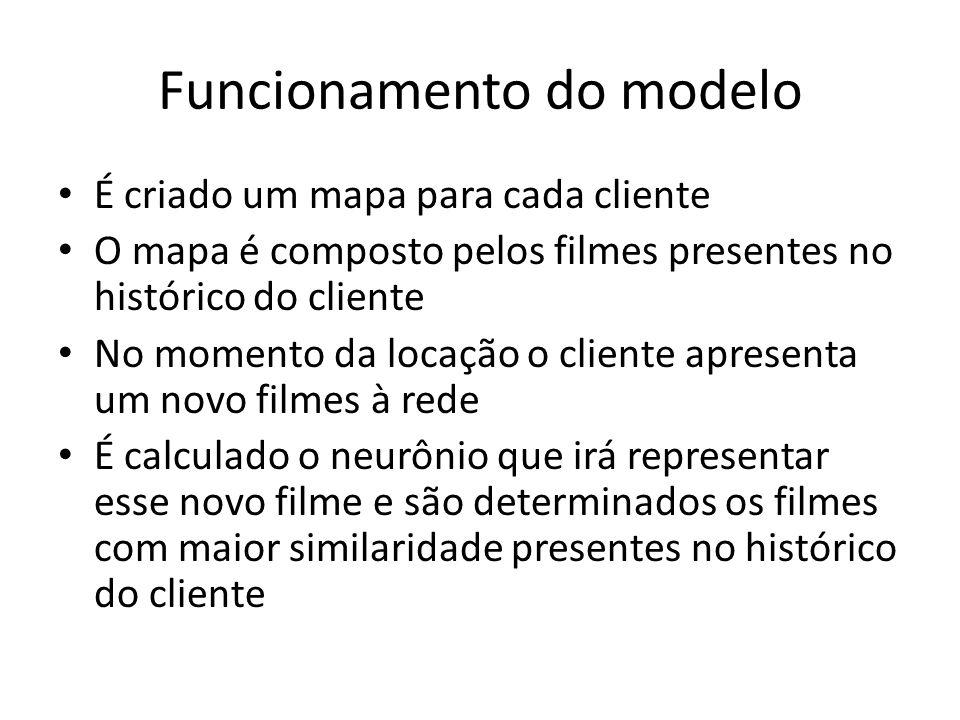 Funcionamento do modelo