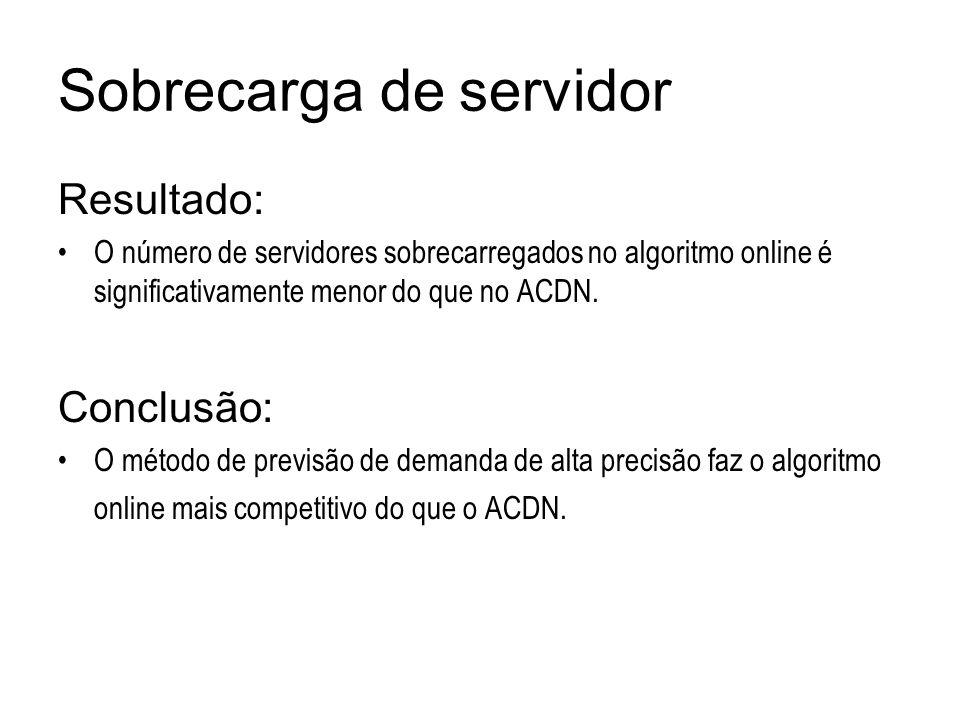 Sobrecarga de servidor