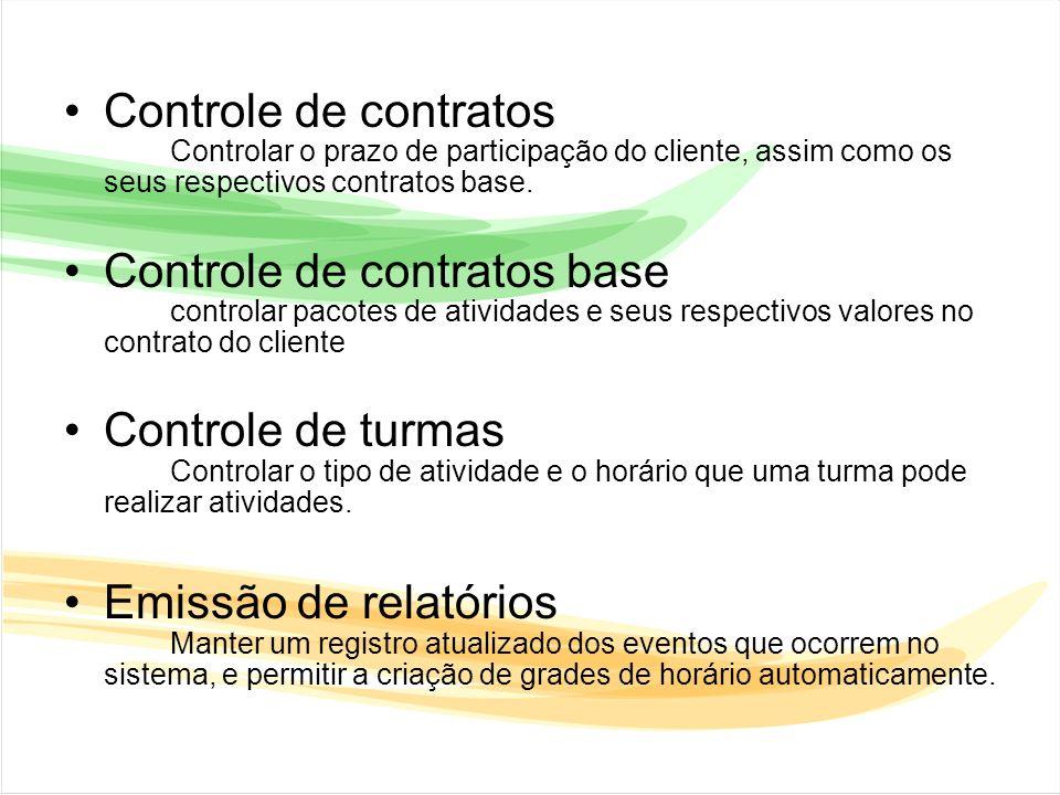 Controle de contratos base