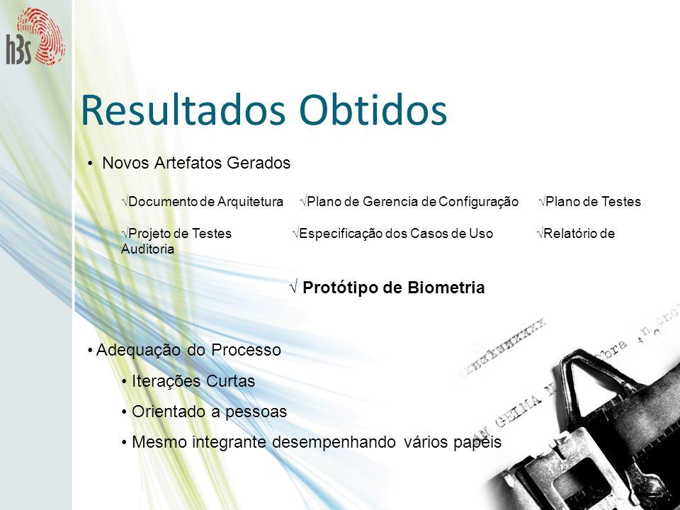 √ Protótipo de Biometria