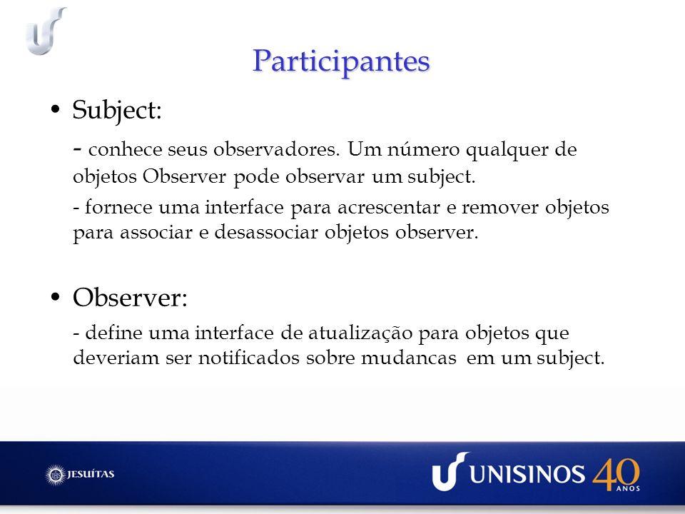 Participantes Subject: