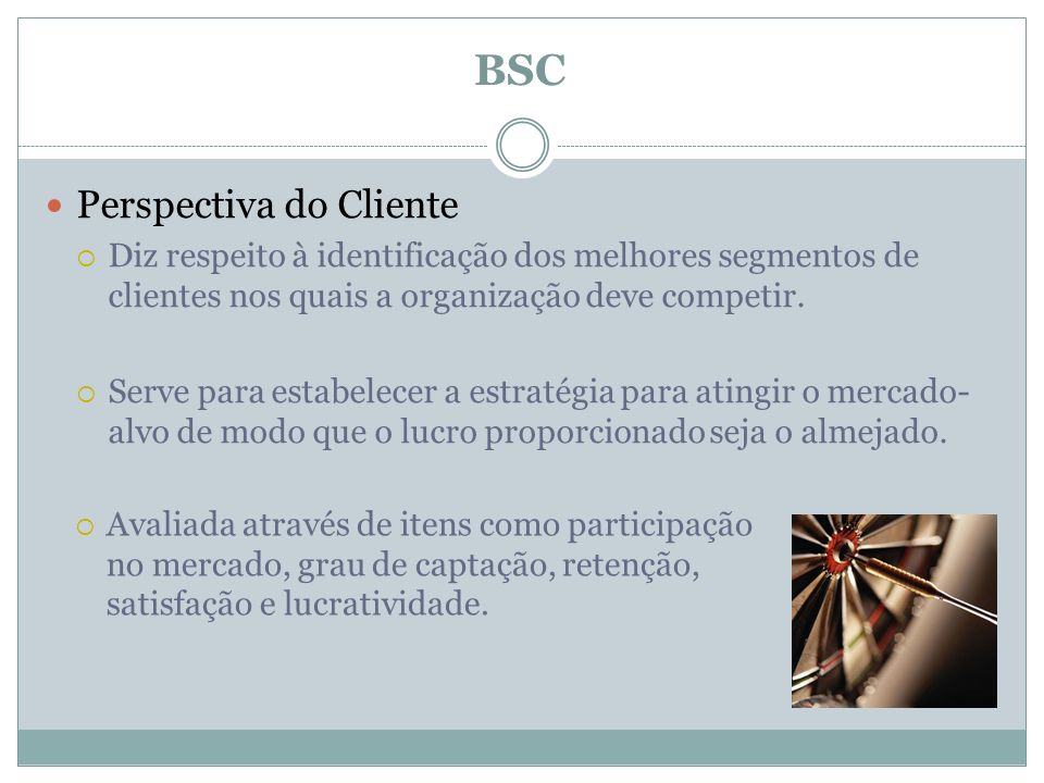 BSC Perspectiva do Cliente