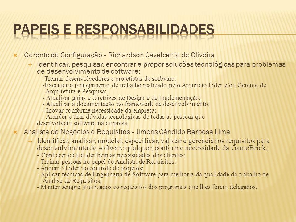 Papeis e responsabilidades