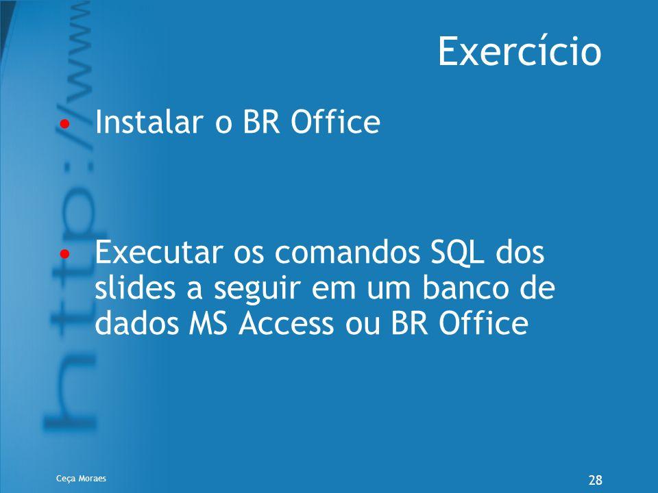 Exercício Instalar o BR Office