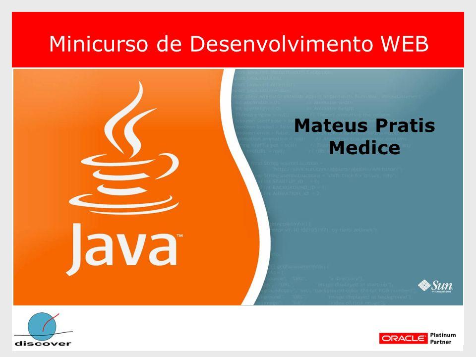 Minicurso de Desenvolvimento WEB