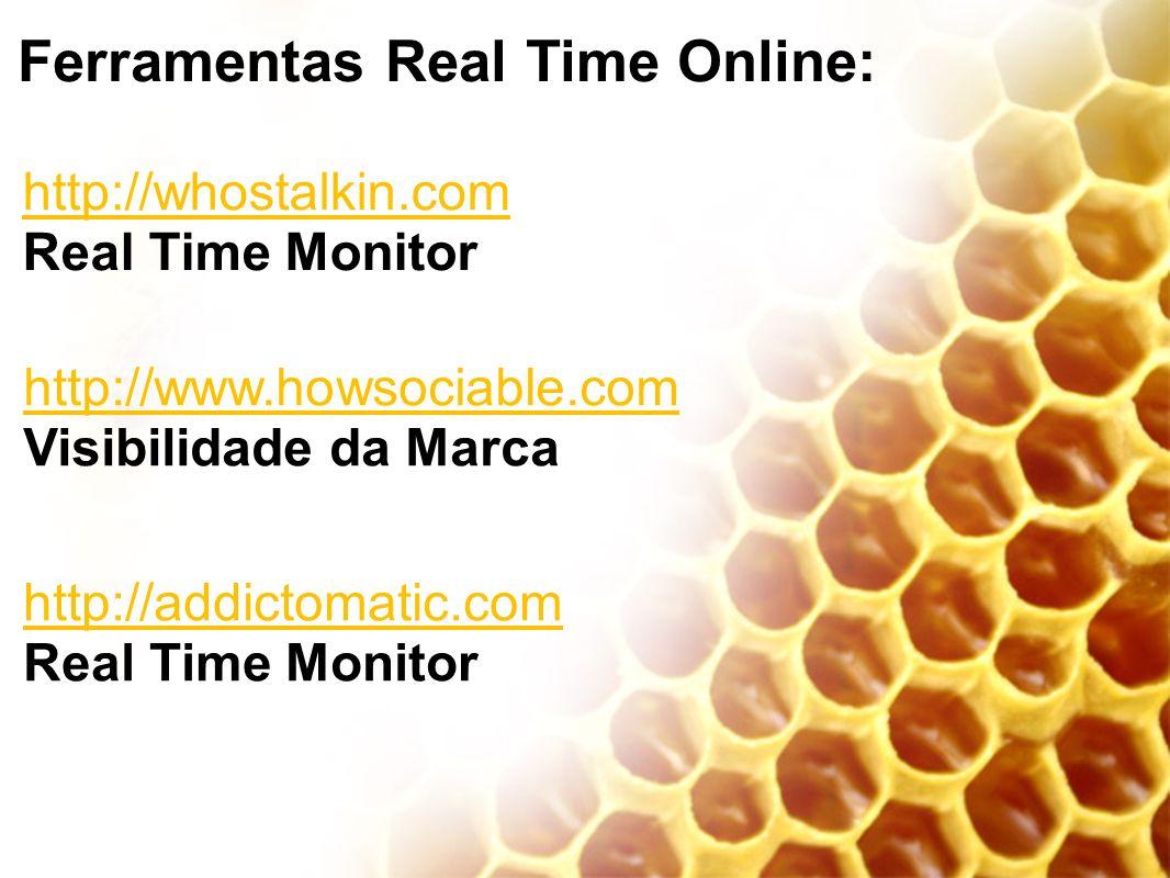 Ferramentas Real Time Online: