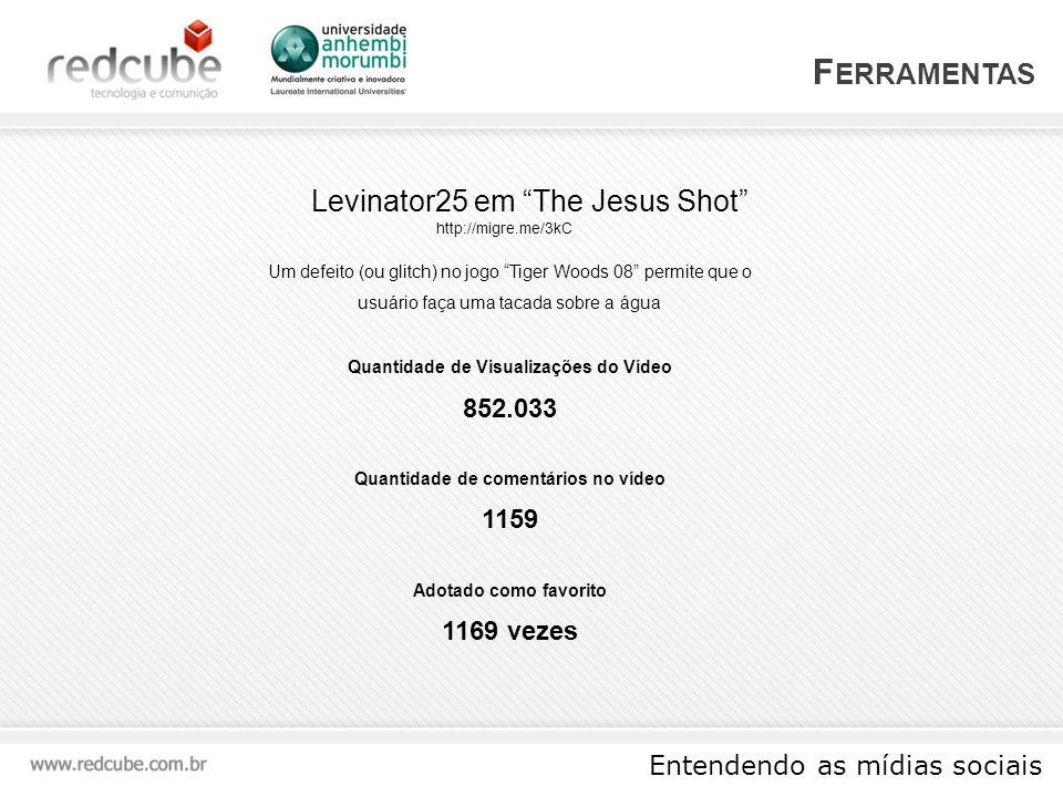 Ferramentas Levinator25 em The Jesus Shot 852.033 1159 1169 vezes
