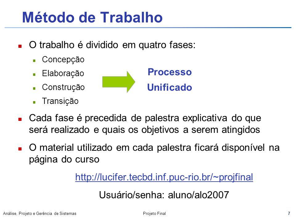 Usuário/senha: aluno/alo2007