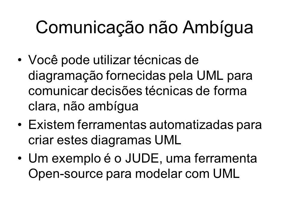 Comunicação não Ambígua