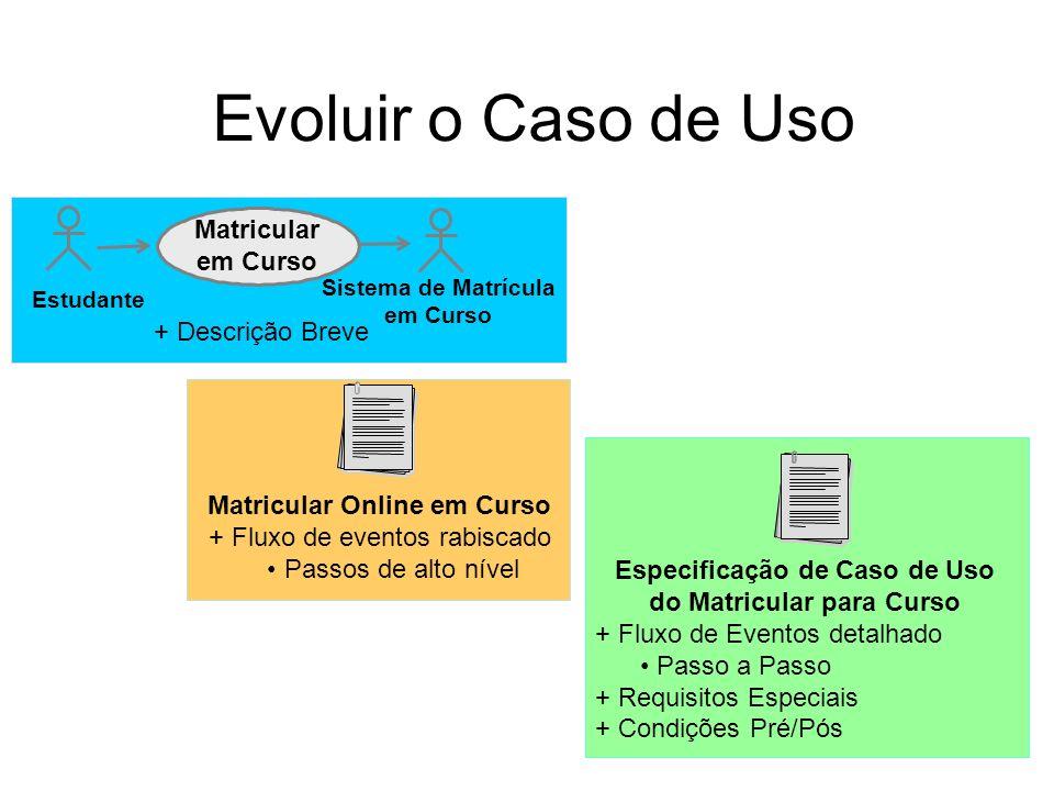 Sistema de Matrícula em Curso
