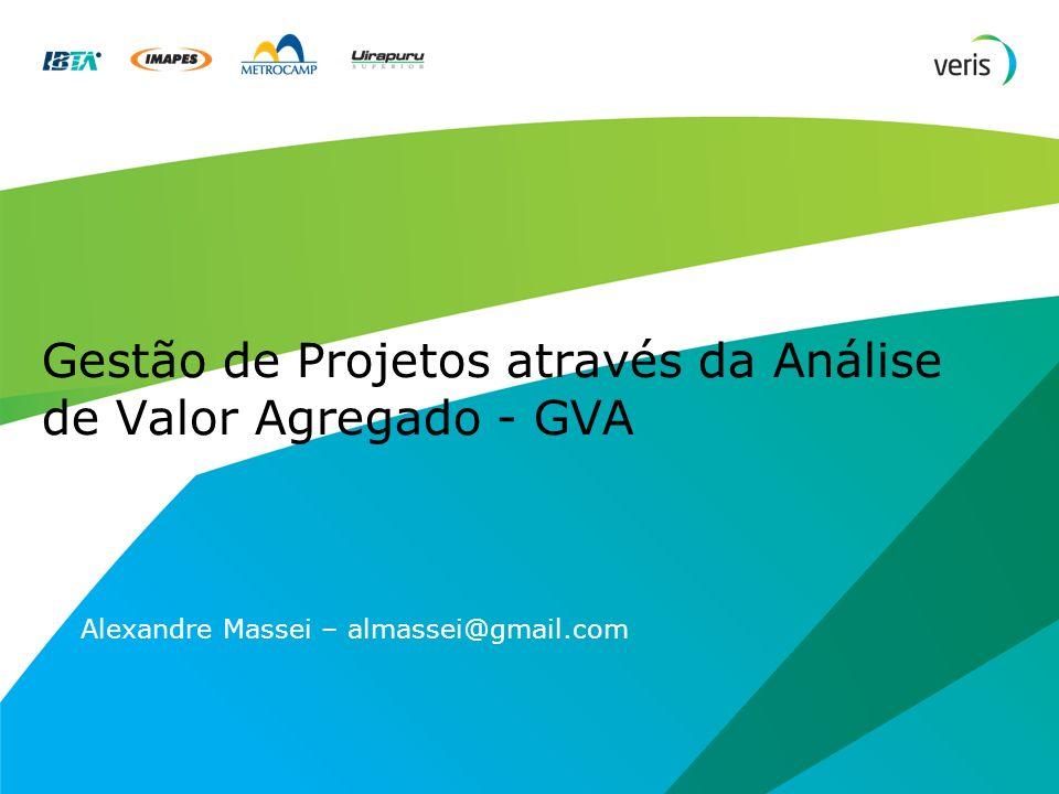 Gestão de Projetos através da Análise de Valor Agregado - GVA