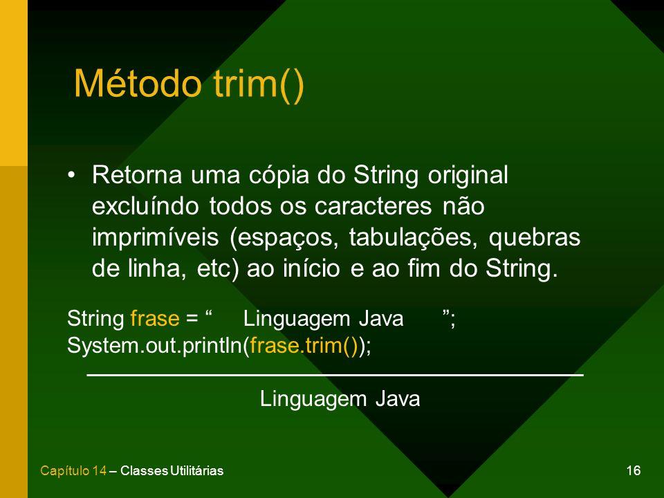Método trim()