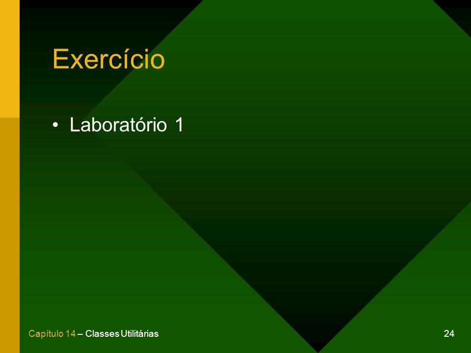 Exercício Laboratório 1