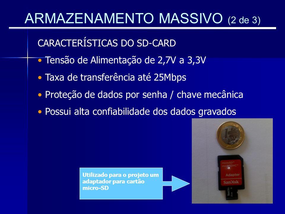 ARMAZENAMENTO MASSIVO (2 de 3)