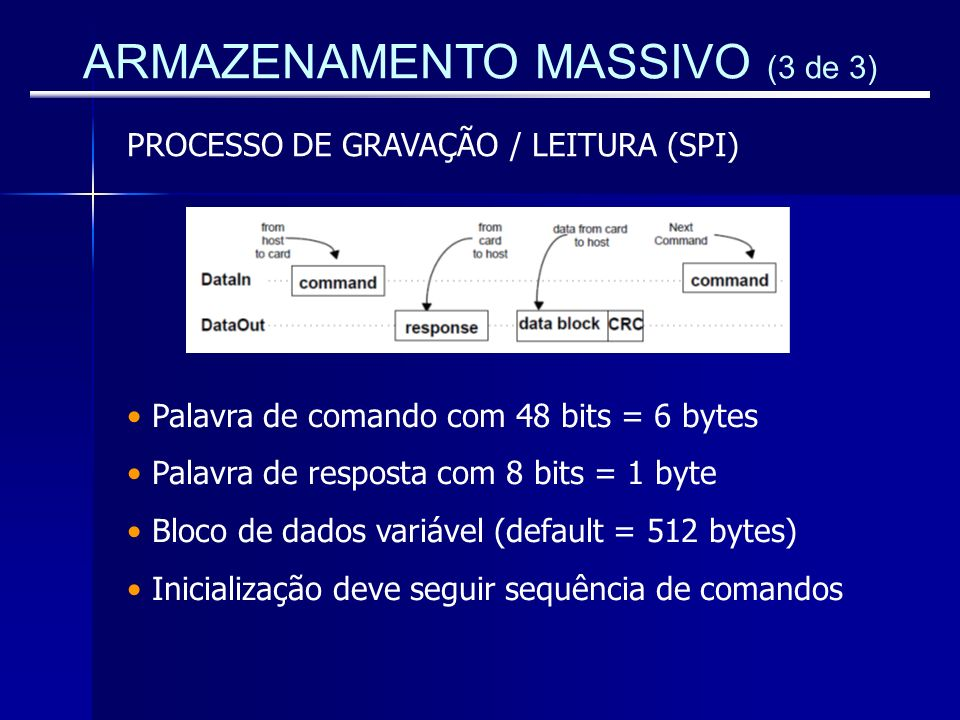 ARMAZENAMENTO MASSIVO (3 de 3)