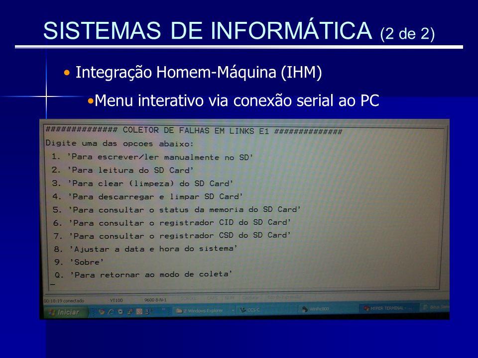SISTEMAS DE INFORMÁTICA (2 de 2)