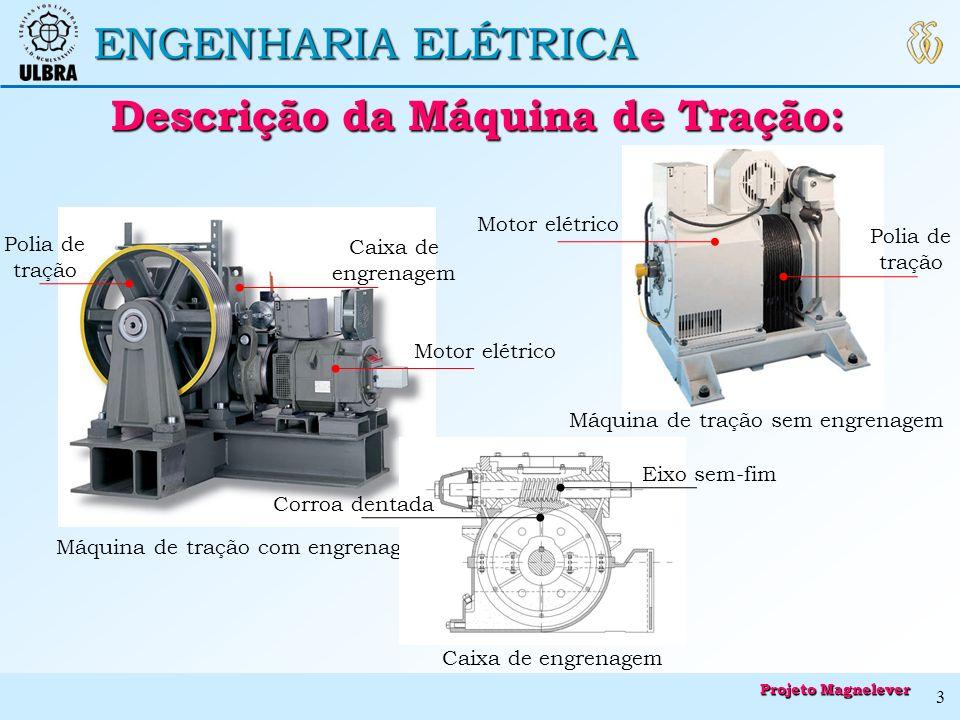 Descrição da Máquina de Tração: