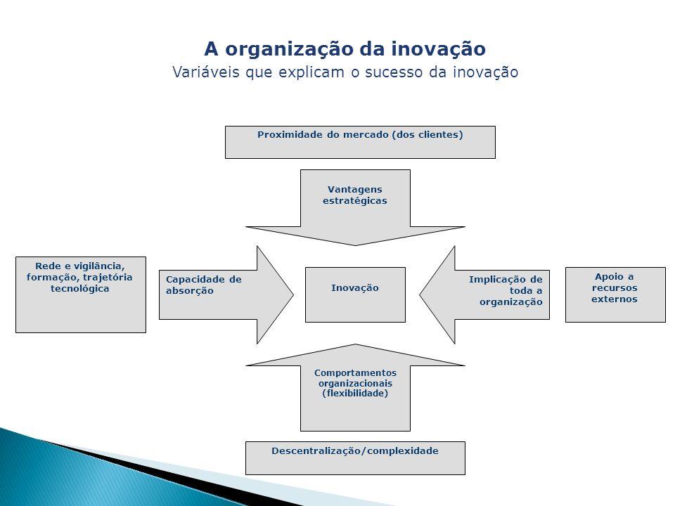 A organização da inovação