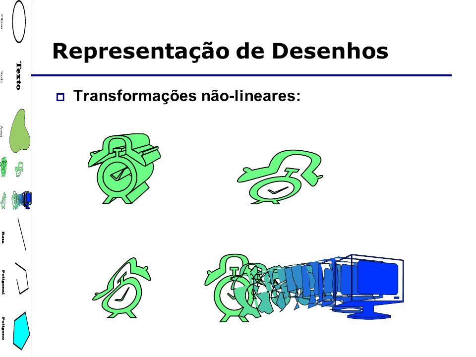 Transformações não-lineares: