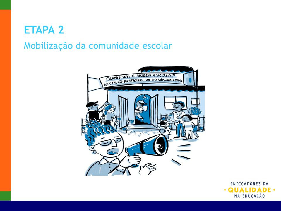 ETAPA 2 Mobilização da comunidade escolar