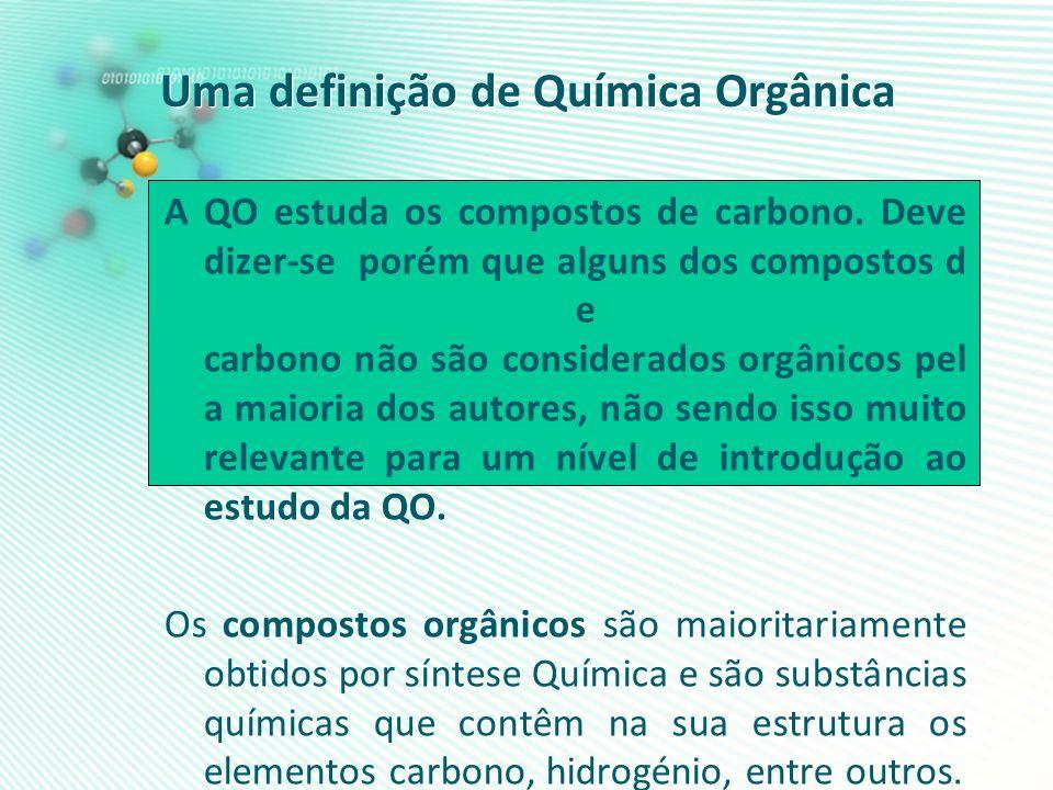Uma definição de Química Orgânica