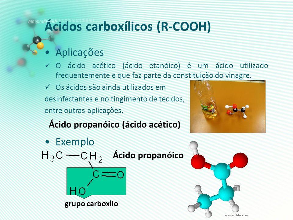Ácidos carboxílicos (R-COOH)