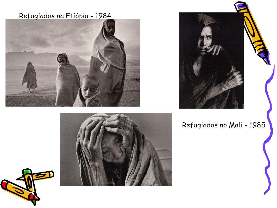 Refugiados na Etiópia - 1984