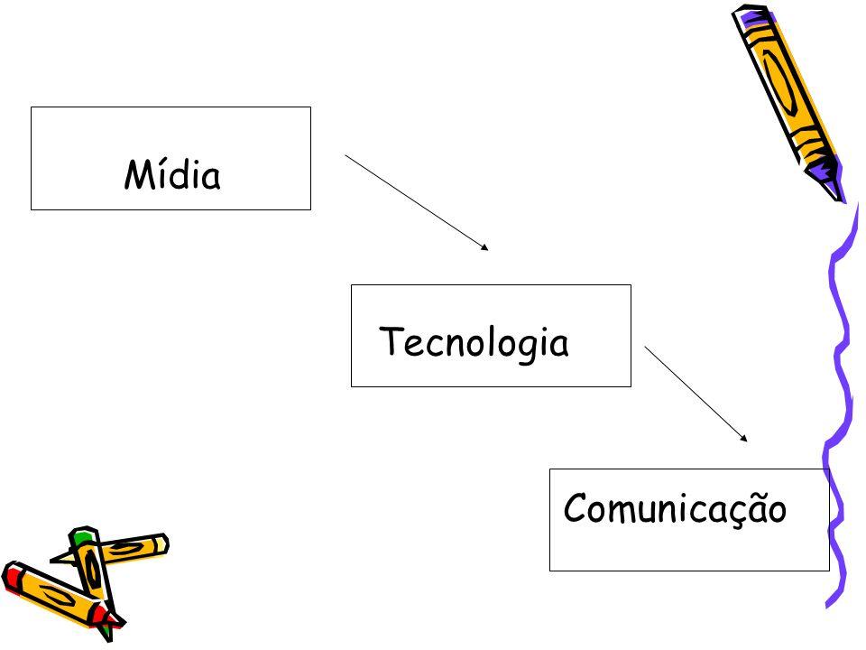 Mídia Tecnologia Comunicação