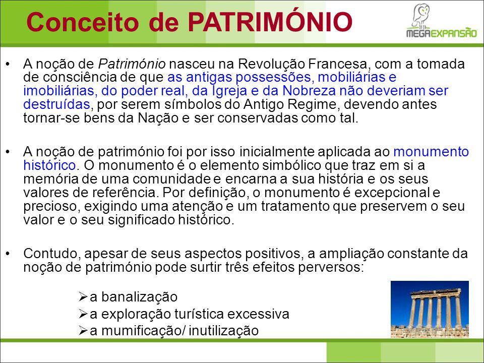 Conceito de PATRIMÓNIO