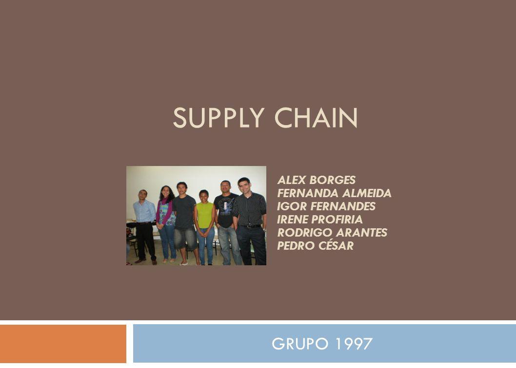 SUPPLY CHAIN GRUPO 1997 Alex Borges Fernanda Almeida Igor Fernandes