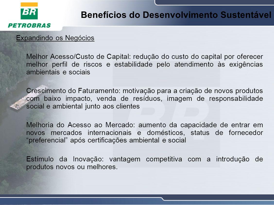 Benefícios do Desenvolvimento Sustentável