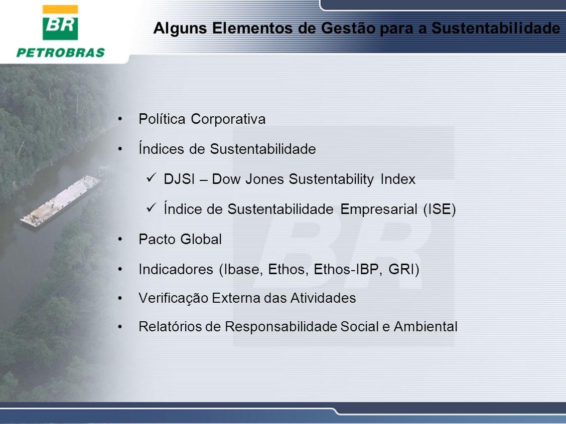 Alguns Elementos de Gestão para a Sustentabilidade