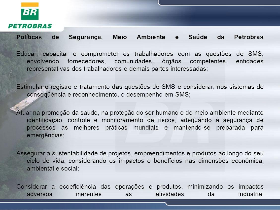 Políticas de Segurança, Meio Ambiente e Saúde da Petrobras