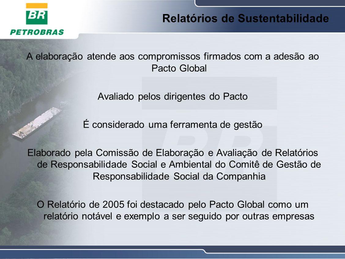 Relatórios de Sustentabilidade