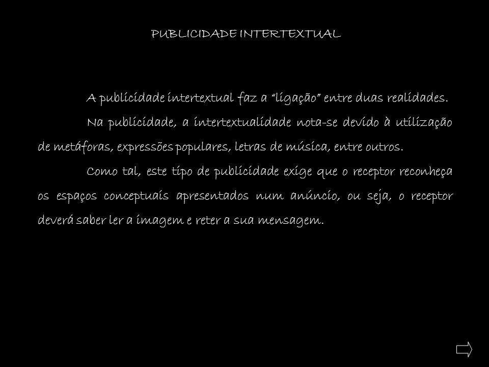 PUBLICIDADE INTERTEXTUAL