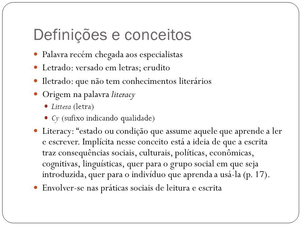 Definições e conceitos