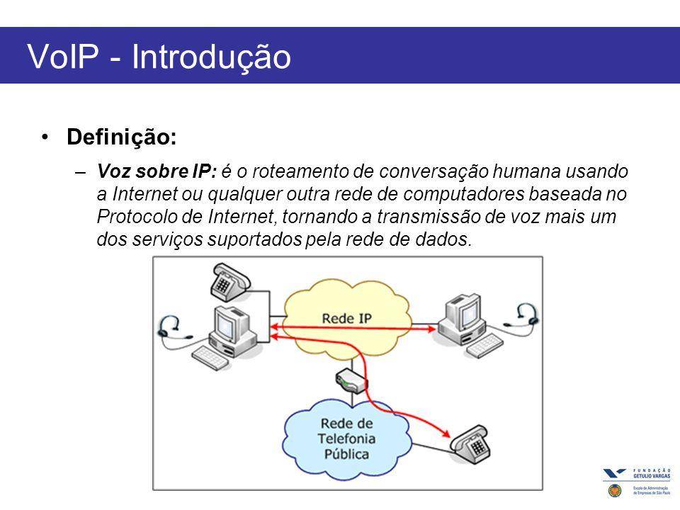 VoIP - Introdução Definição: