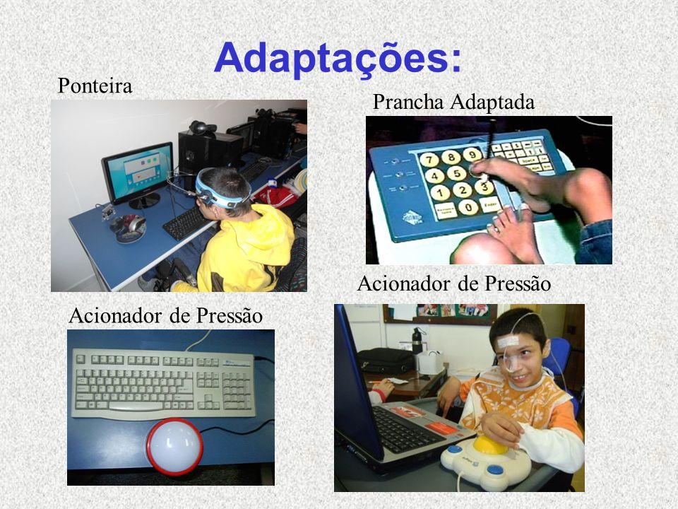 Adaptações: Ponteira Prancha Adaptada Acionador de Pressão